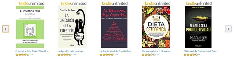 probar kindle unlimited amazon